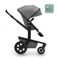 Joolz Day³ Studio Complete set FR With Free Nursery Bag and Essential Blanket - Graphite Grey