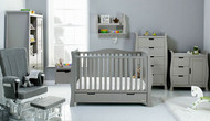 Obaby Stamford Luxe 7 Piece Room Set - Taupe Grey