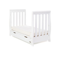 Obaby Stamford Mini Cot Bed - White