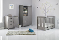 Obaby Stamford Mini 3 Piece Room Set - Taupe Grey