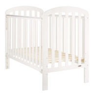 Obaby Lily Cot + Free Foam Mattress - White