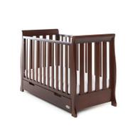 Obaby Stamford Mini Cot Bed  - Walnut
