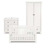Silver Cross Nostalgia Ivory - 3 Piece Furniture Set With Free Classic Mattress