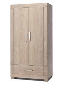 Silver Cross Camberwell Oak - Double Wardrobe