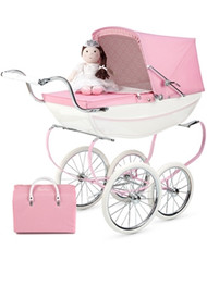 Silver Cross Doll's Pram + Dolls and Changing Bag - Princess