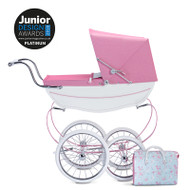 Silver Cross Doll's Pram & Bag - Blossom