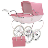 Silver Cross Chatsworth Doll's Pram & Bag - Rose
