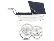 Silver Cross Oberon Doll's Pram - White