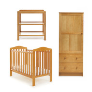 Obaby Ludlow 3 Piece Room Set - Country Pine