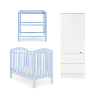 Obaby Ludlow 3 Piece Room Set - Bonbon Blue