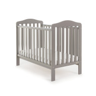 Obaby Ludlow Cot + Free Foam Mattress - Taupe Grey