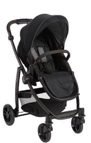 Graco Evo Stroller - Black/Grey