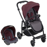 Graco Evo Travel System (WITH SNUGRIDE R44) - Crimson