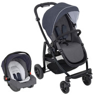 Graco Evo Travel System (WITH SNUGRIDE R44) - Mineral