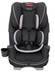 Graco Slimfit Lx Group 0+/1/2/3 Car Seat - Midnight Black