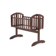 Obaby Sophie Swinging Crib - Walnut