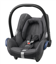 Maxi Cosi Cabriofix Carseat + Familyfix Package Deal - Sparkling Grey