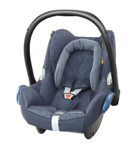 Maxi Cosi Cabriofix Carseat + FamilyFix Package Deal - Nomad Blue