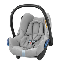 Maxi Cosi Cabriofix Carseat + FamilyFix Package Deal - Nomad Grey