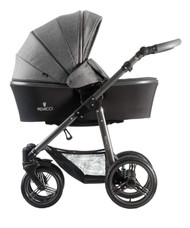 Venicci Carbo Collection 3in1 Travel System -  Denim Grey