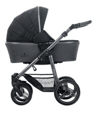 Venicci Carbo Lux Collection 3in1 Travel System -  Black Lux