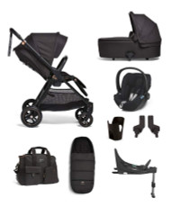 Mamas & Papas Flip XT³ Cloud Z 6 Piece Bundle with Accessories - Black/Copper