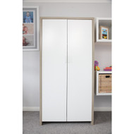 Modena Wardrobe - White/Oak
