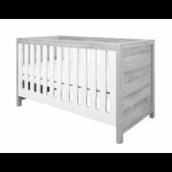 Modena 3 in 1 Cot bed - White/Grey