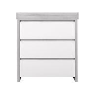Modena Changing Unit - White/Grey