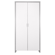 Modena Wardrobe - White/Grey