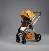 iCandy Peach Chrome Nectar with Changing Bag, Duo-Pod and Ride on Board