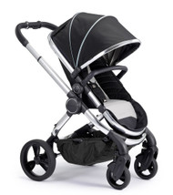 iCandy Peach Chrome Pushchair - Beluga With Changing Bag, Duo-Pod and Ride on Board