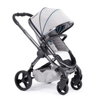 iCandy Peach Phantom Pushchair - Dove Grey With Changing Bag, Duo-Pod and Ride on Board