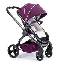 iCandy Peach Phantom Pushchair - Damson With Changing Bag, Duo-Pod and Ride on Board