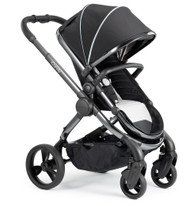 iCandy Peach Phantom Pushchair - Beluga With Changing Bag, Duo-Pod and Ride on Board