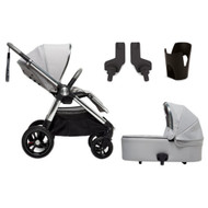 Mamas & Papas Ocarro Grey Herringbone  4 Piece + Footmuff