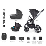Venicci Tinum 3-in-1 Travel System - Camo Black