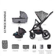 Venicci Tinum 3-in-1 Travel System - Camo Grey