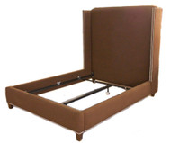 Luxurious Custom Made Wingback Bed
