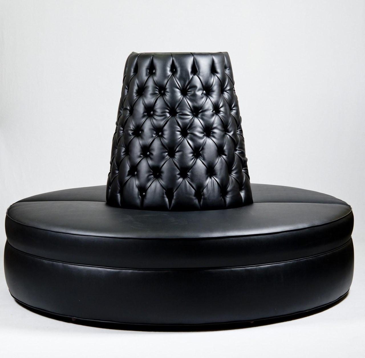 large diamond tufted round settee hotel lobby sofa celebrity rh celebrityfurnishings com  buy round lobby sofa