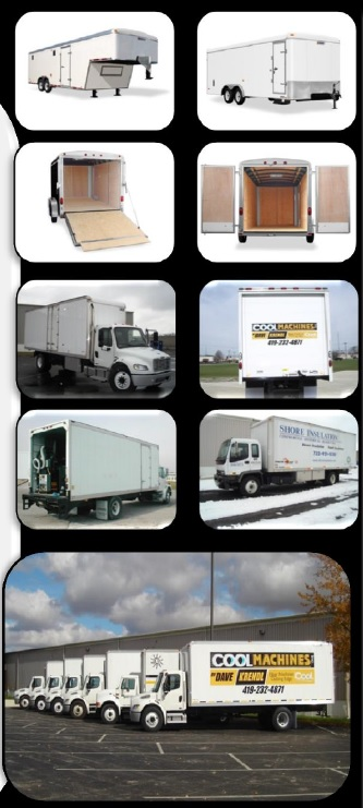 Cool Machines Insulation Machine Truck And Trailer Systems Common Attributes