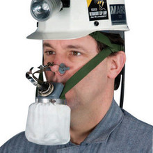 MSA 461100 Mouthbit Self-Rescuer W65 Escape Air Purifying Respirator