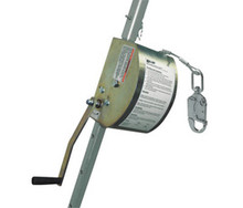 Miller by Honeywell 8442GC/100FT 100 Ft ManHandler Personnel 3/16 In Galvanized Hoist