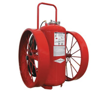 Amerex 491 300lb Direct Pressure ABC Dry Chemical 40A:320B:C Fire Extinguisher