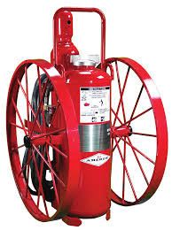 Amerex 470 125lb Regulated Pressure ABC Dry Chemical 30A:320B:C Fire Extinguisher