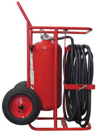 Amerex 489 150lb Stored Pressure Dry Chemical 240-B:C Fire Extinguisher