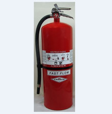 Amerex 568 30lb Dry Chemical 40-B:C Fast Flow Fire Extinguisher