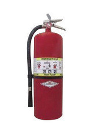 Amerex 761 20lb Dry Chemical 60-B:C High Flow Portable Fire Extinguisher