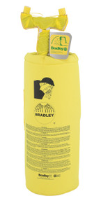 Bradley S19-690H 10 Gal Portable Pressurized Eye Wash Unit With Heater Jacket