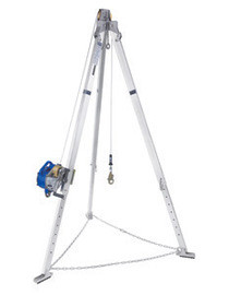 DBI/SALA 8301048 7 Ft Advanced Sealed-Blok 3-Way SRL Aluminum Tripod